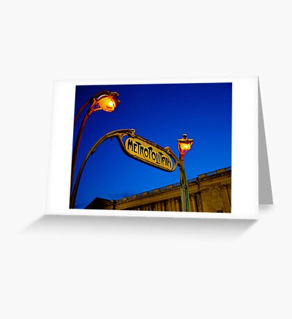 Metropolitan Greeting Card