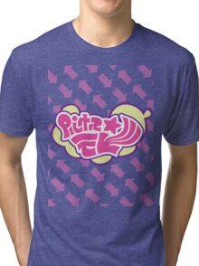 Splatoon Inspired: Callie and Marie News Splash Tri-blend T-Shirt