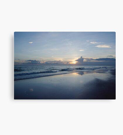 Cool Sunset Canvas Print