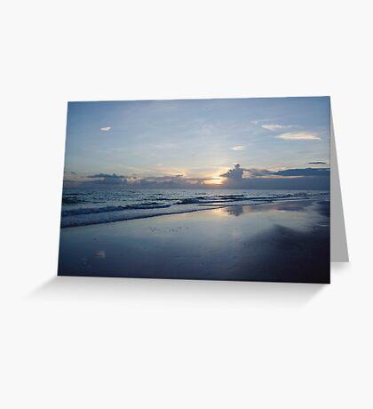 Cool Sunset Greeting Card