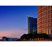 skypoint, suntrust, the museum and the beer can Photographic Print