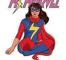 Kamala Khan: Ms. Marvel by zionangel