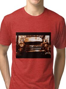 Old Truck Tri-blend T-Shirt
