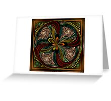 Window Fan Greeting Card