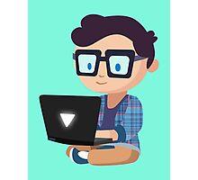 Cute Geek Photographic Print