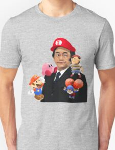Iwata and Friends Tribute T-Shirt