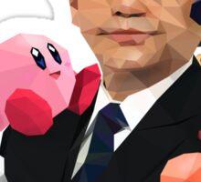 Iwata and Friends Tribute Sticker