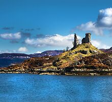 Castle Moil, Kyleakin. by Dave Hare