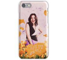 Lana Parrilla;  iPhone Case/Skin