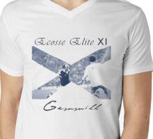 Ecosse Elite XI. Gemmill Mens V-Neck T-Shirt