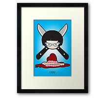 Boy Guts Framed Print