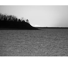 Choppy Lake Photographic Print