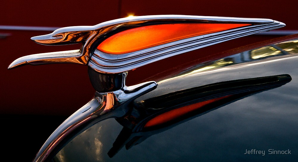 1950 Chevrolet Hood Ornamant by Jeffrey  Sinnock