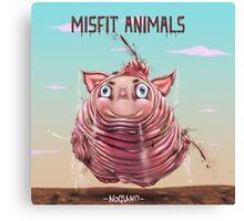 Misfit Animals Canvas Print