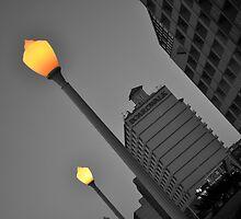 Street Lights by JacquelynLL