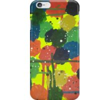 Abstract Fireworks iPhone Case/Skin