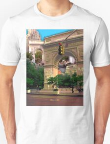 Washington Square Arch, Greenwich Village, NYC, NY T-Shirt
