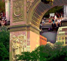 Washington Square Arch, Greenwich Village, NYC, NY Sticker