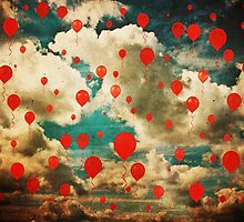 99 Red Balloons by Denise Abé