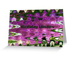 Many Colours Card Greeting Card