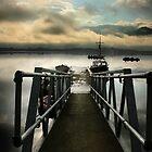 Jetty on Bassenthwaite Lake by Stevie Mancini