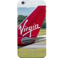 Virgin Atlantic Airbus A330 Plane Tail Livery iPhone Case/Skin