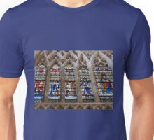 Stunning Stained Glass Windows Unisex T-Shirt