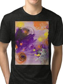 """Nimiety Star-Gazer"" by Asra Rae Tri-blend T-Shirt"