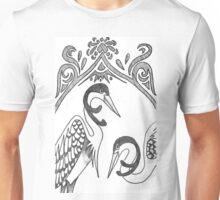 Two Herons Unisex T-Shirt