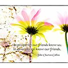 We know our Friends... by Olga