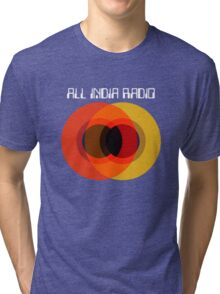All India Radio - Circles Tri-blend T-Shirt