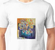 Flowers in a vase Unisex T-Shirt