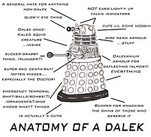 Anatomy of a Dalek Photographic Print
