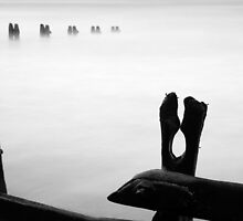 Abstract (groynes) by PaulBradley