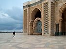 Hassan II Mosque ~ Casablanca, Morocco by Lucinda Walter