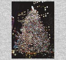 Rockefeller Center, Holiday Tree, NYC, NY One Piece - Long Sleeve