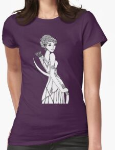 Diana #1 Womens Fitted T-Shirt