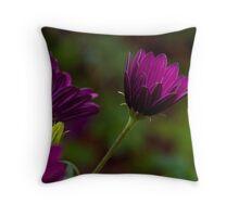 Purple bokeh  Throw Pillow