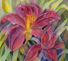 Flaming Lily by bevmorgan