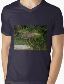 In awe of his surroundings Mens V-Neck T-Shirt