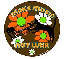 make music not war by tiffanyo