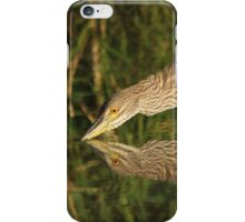 Mirror mirror on the wall who is the fairest heron of all? iPhone Case/Skin