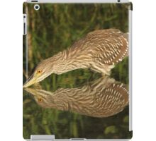 Mirror mirror on the wall who is the fairest heron of all? iPad Case/Skin