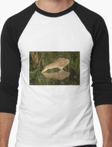 Mirror mirror on the wall who is the fairest heron of all? Men's Baseball ¾ T-Shirt