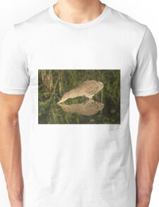Mirror mirror on the wall who is the fairest heron of all? Unisex T-Shirt