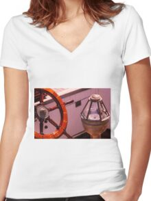 Adventure Bound Women's Fitted V-Neck T-Shirt