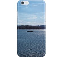 Excursion ship go by the Solina Lak iPhone Case/Skin