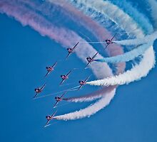 Red Arrows II by TheWalkerTouch