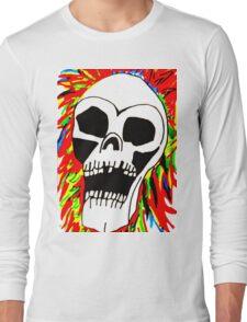 THE SCREAMING SKULL Long Sleeve T-Shirt