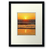 Sunrise /Sunset  Framed Print